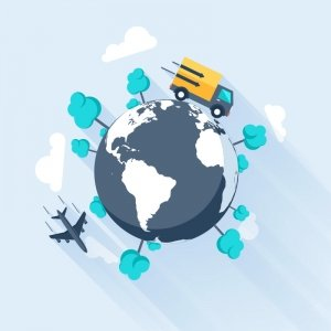 Around The World Blog Background - LDP Associates, Inc.