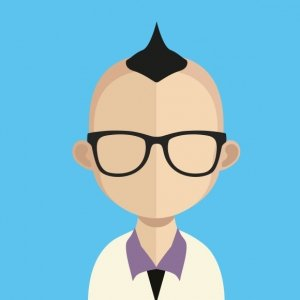Man With Glasses Cartoon Image - LDP Associates, Inc.