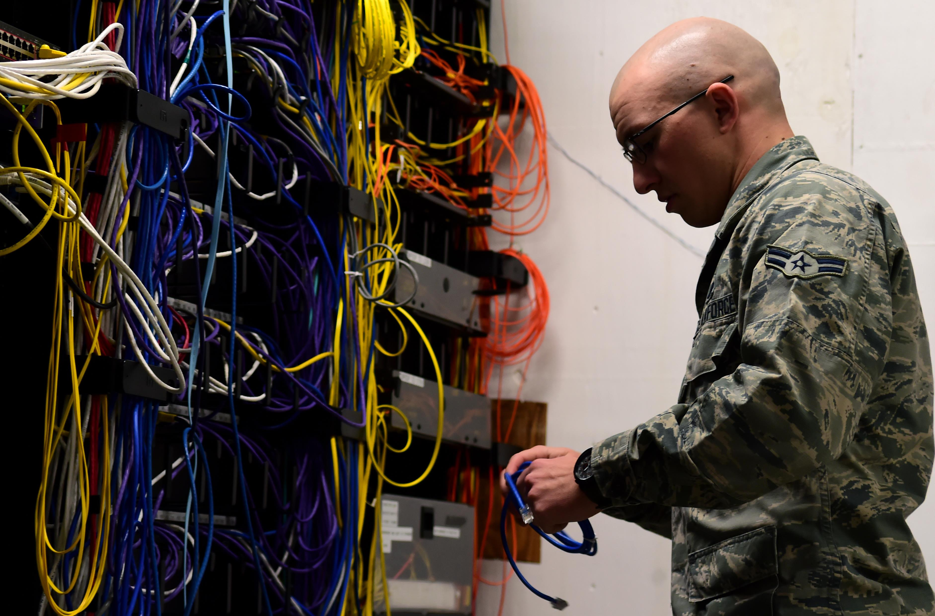 Protect Your Network Closet Data Wiring