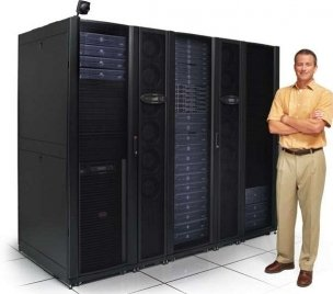Powered, Cooled & Protected Server